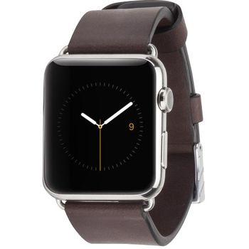 Case Mate výměnný řemínek Signature pro Apple Watch 42mm, hnědý