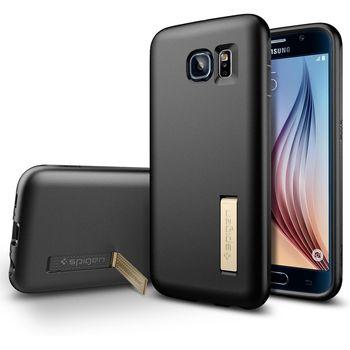Spigen ochranný kryt Capsule Solid pro Samsung Galaxy S6, černá