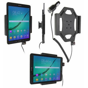 Brodit držák do auta na Samsung Galaxy Tab S2 9.7 bez pouzdra, s nabíjením z cig. zapalovače