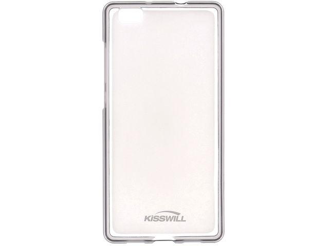 obsah balení Kisswill TPU pouzdro pro Huawei Ascend P8, transparentní