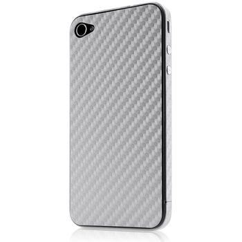 Belkin pouzdro pro Apple iPhone 4/4S Surface 026, stříbrné (F8Z897cwC01)