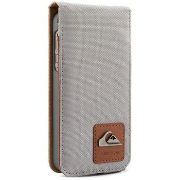 Quiksilver  pouzdro flap pro Apple iPhone 5/5S, šedé