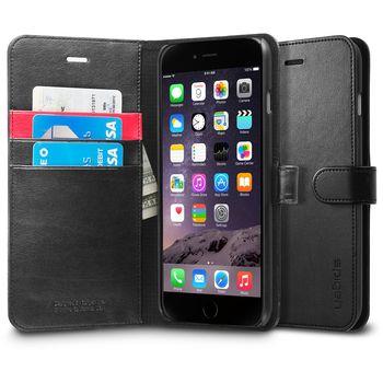 Spigen flipové pouzdro Wallet S pro Apple iPhone 6 Plus, černá
