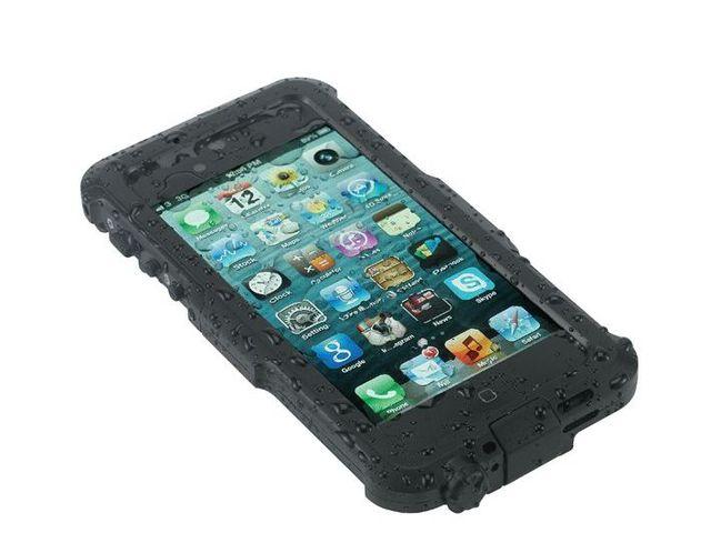 obsah balení BravoCase outdoorové hliníkové vodotěsné pouzdro pro iPhone 4/4s + stylus SJ3 černý