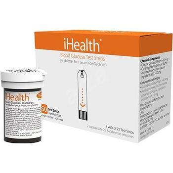 iHealth AGS-1000I testovací proužky pro iHealth glukometry, 50 kusů