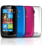 Nokia Lumia 610 Magenta + záložní zdroj Nokia DC-16 ZDARMA