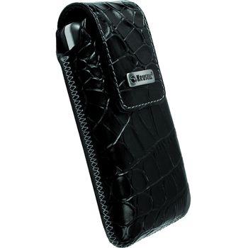 Krusell pouzdro Vinga Croco - L - HTC Desire, Nokia N8/C3-00/N900, SE Aspen 114x67x16mm (černá)