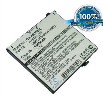 Baterie náhradní pro Acer F1, S200, Li-ion 3,7V 1500mAh
