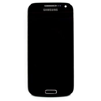 Náhradní díl LCD displej + dotyk + přední kryt Samsung i9195 Galaxy S4 mini, hnědý