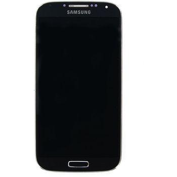 Náhradní díl LCD isplej + dotyk + přední kryt pro Samsung i9505 Galaxy S4, černý