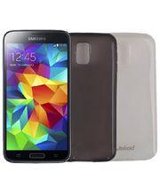 Jekod TPU silikonový kryt pro Samsung Galaxy S5, bílá