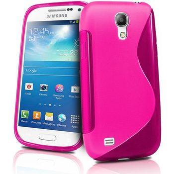 Brando pouzdro měkké plastové pro Galaxy S4 mini, růžová
