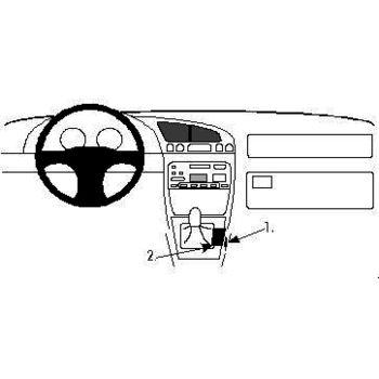 Brodit ProClip montážní konzole pro Ford Fiesta 96-02, na středový tunel
