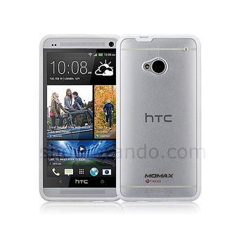 Brando pevné pouzdro plastové pro HTC One, transparentní