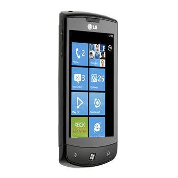 LG E900 Optimus 7 - černá