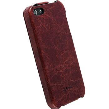 Krusell pouzdro Tumba SlimCover - Apple iPhone 5 (hnědá)