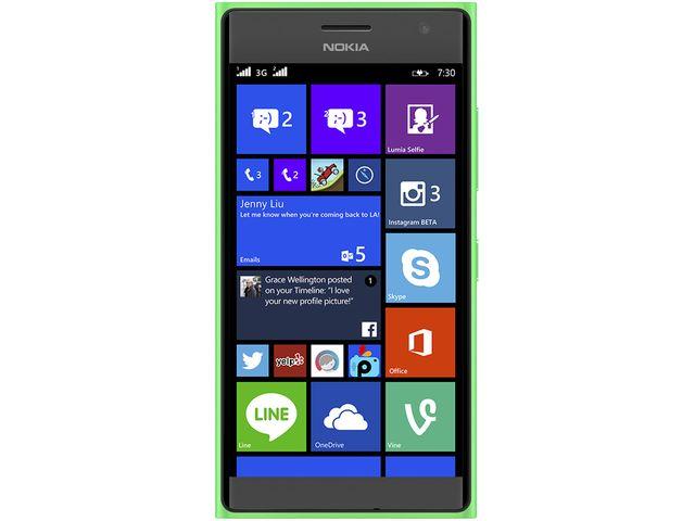 obsah balení NOKIA Lumia 735 zelená