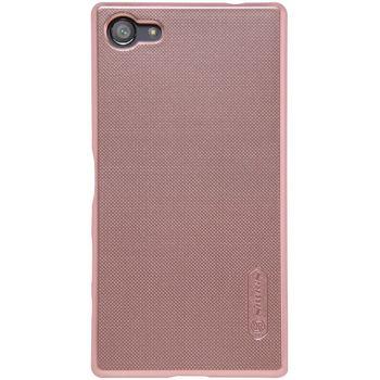 Nillkin zadní kryt Super Frosted pro Sony E5823 Xperia Z5 Compact, růžové zlato