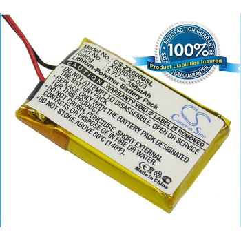 Baterie pro Gigaset Gigaset ZX600, 180mAh, Li-pol