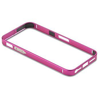 PanzerGlass ochranný hliníkový rámeček pro Apple iPhone 4/4s, růžově červený